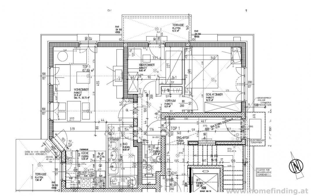 Althietzing/Hüglpark: moderne Neubauwohnung - befristet