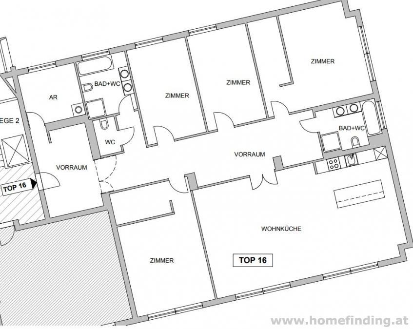 nahe Modenapark: 4 Schlafzimmer - 5 Jahre befristet