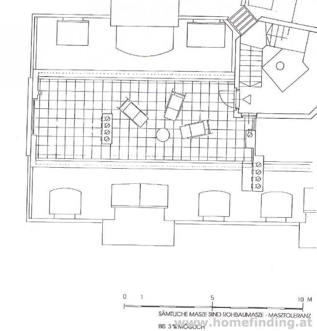 südseitige Neubauwohnung + Dachterrasse I beim Streckerpark - befristet