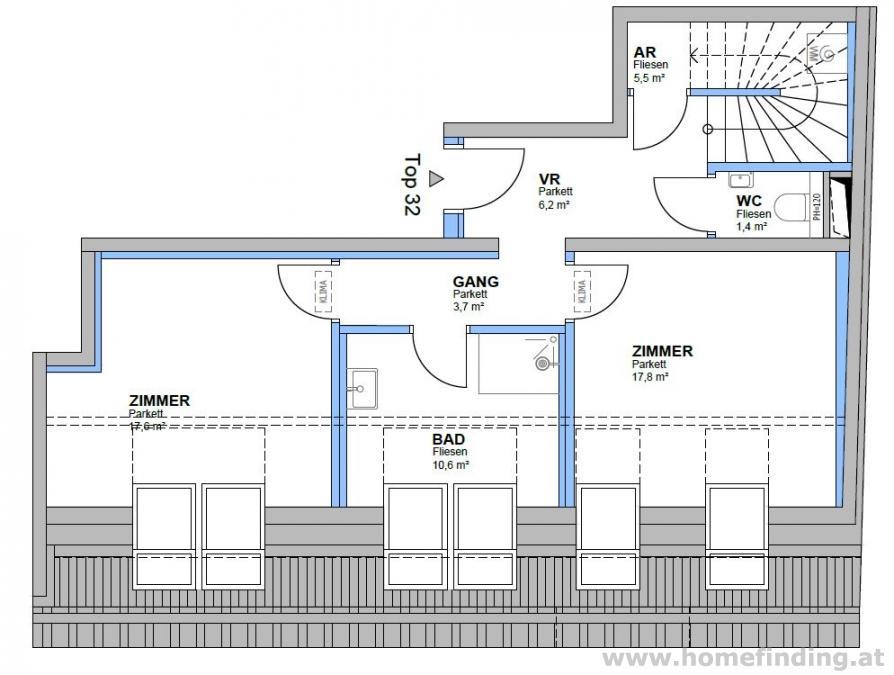 Erstbezug: moderne Penthousewohnung mit großer Terrasse - provisionsfrei*