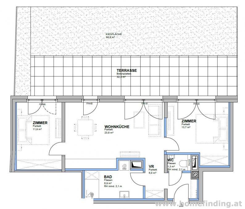Erstbezug: moderne Gartenwohnung - provisionsfrei*