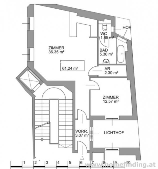 2-Zimmerwohnung  beim Petersplatz- unbefristet