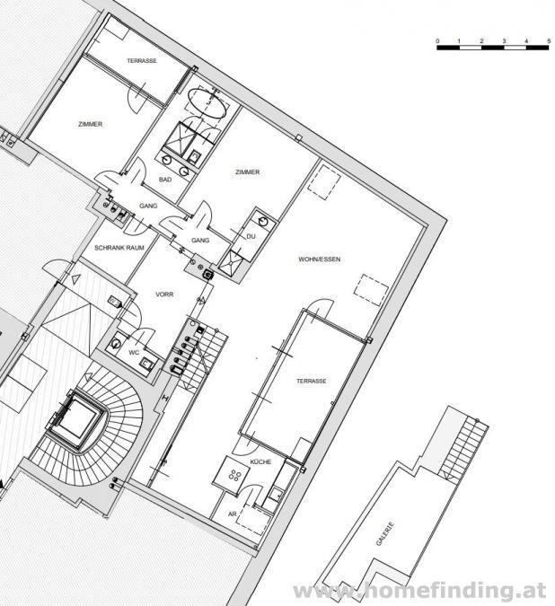Freyung: exklusive Dachgeschoßwohnung - 5 Jahre befristet
