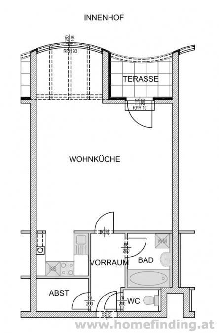 schöne Terrassenwohnung nahe  Rochusmarkt - 5 Jahre befristet