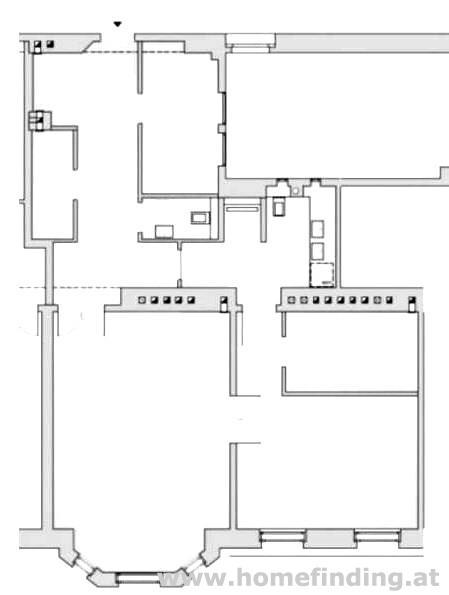 Erstbezug: 2-Zimmer-Altbauwohnung nahe Börse - unbefristet