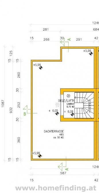 Baurechtsgrund mit Projekt für Doppelhaushälfte in Weinsteig - provisionsfrei*