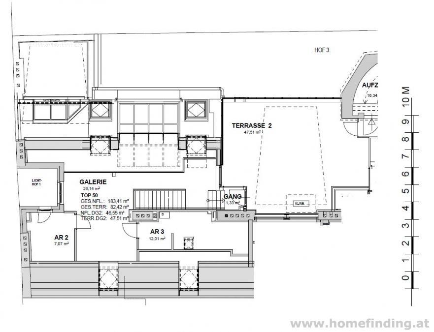 Neubaugasse - Terrassenpenthouse - unbefristet