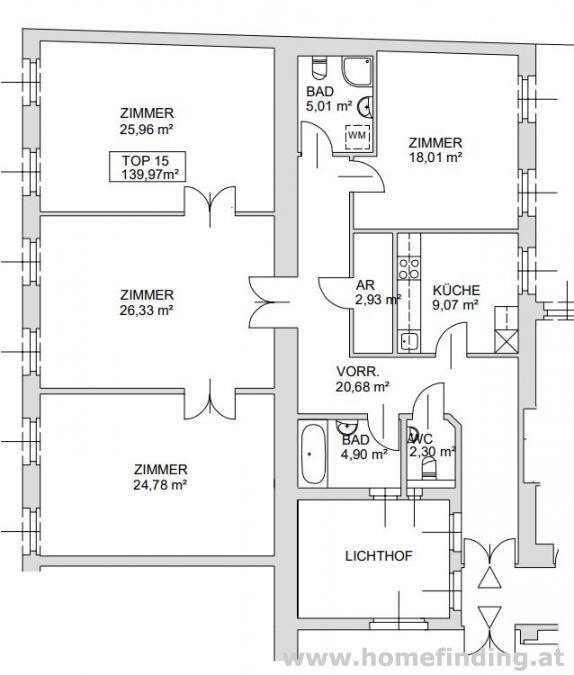 4-Zimmerwohnung nähe Skodagasse