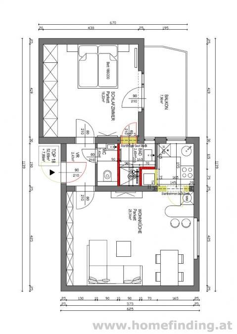 2-Zimmer-Balkonwohnung in Grünlage - befristet
