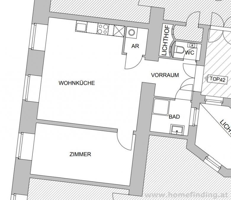 hübsche 2 Zimmerwohnung nahe Nestroyplatz - unbefristet