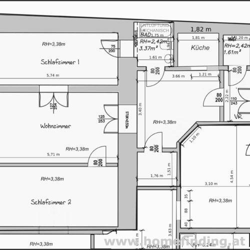 expat flat: möblierte 3-Zimmerwohnung im Herzen Wiens