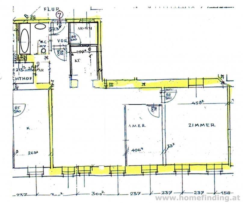 hübsche 3-Zimmer-Altbauwohnung - befristet
