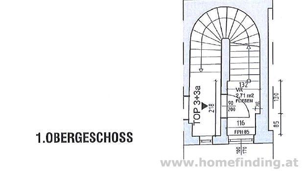 Penthouse: 4 Zimmer mit Terrasse - unbefristet (kein Lift)