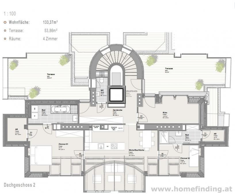 traumhafte Dachgeschoßwohnung mit Terrasse - 10 Jahre befristet