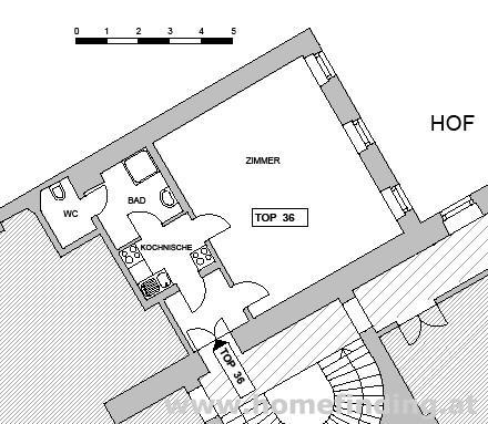 Herrengasse: hübsche 1-Zimmerwohnung - unbefristet