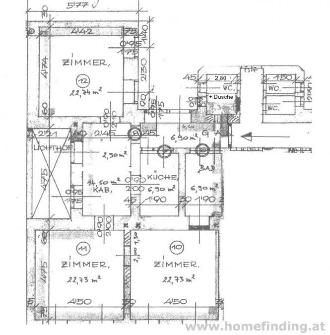3 Zimmer Albauwohnung / WG-tauglich