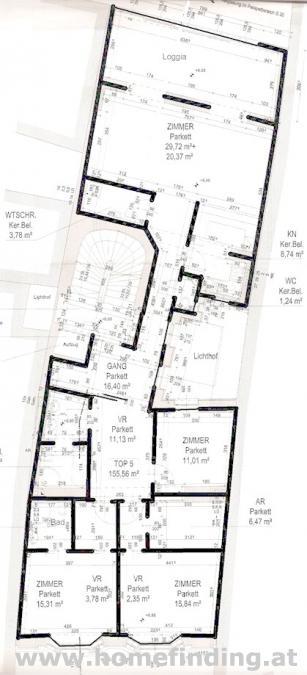 Loggiawohnung beim Stephansdom