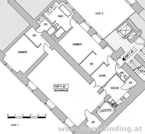 Wohnen nahe Kohlmarkt: Palaiswohnung - unbefristet