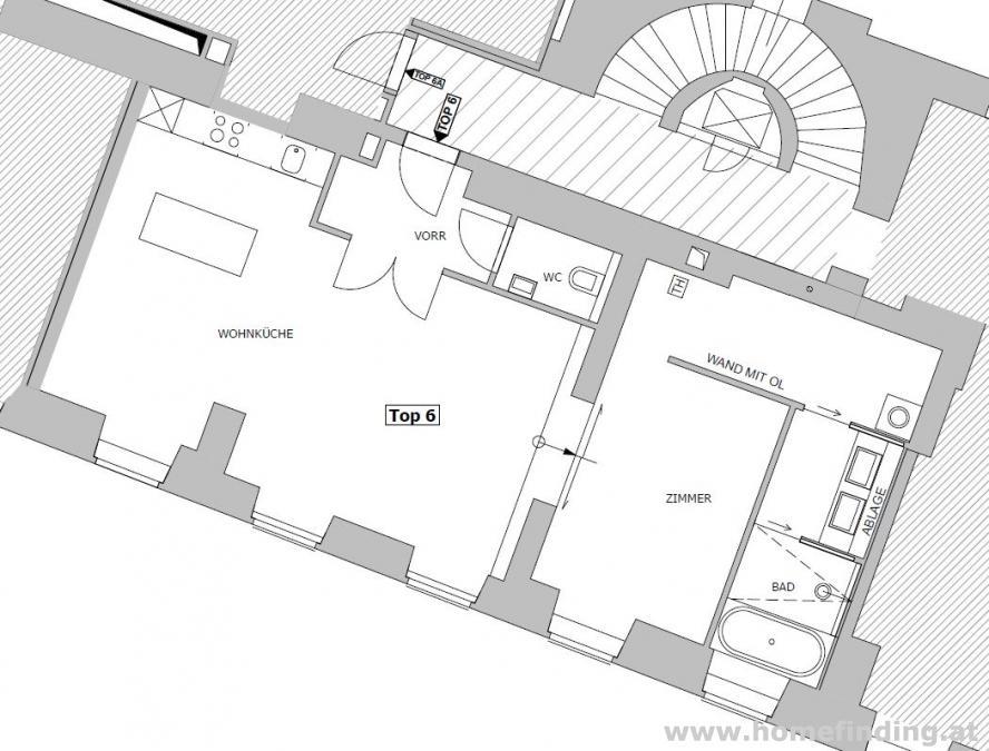 exklusive 2 Zimmerwohnung/ Rauhensteingasse