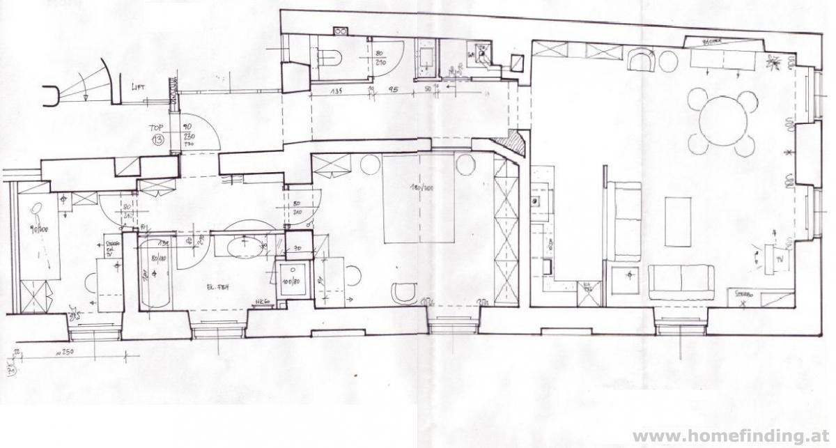 VIDEO: expat flat: teilmöblierte 3-Zimmerwohnung / Franziskanerplatz