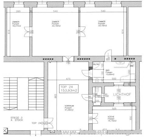 Graben: geräumige 3 Zimmerwohnung - unbefristet