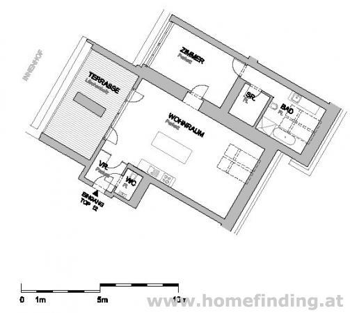 Margaretenhof - traumhafte Terrassenwohnung