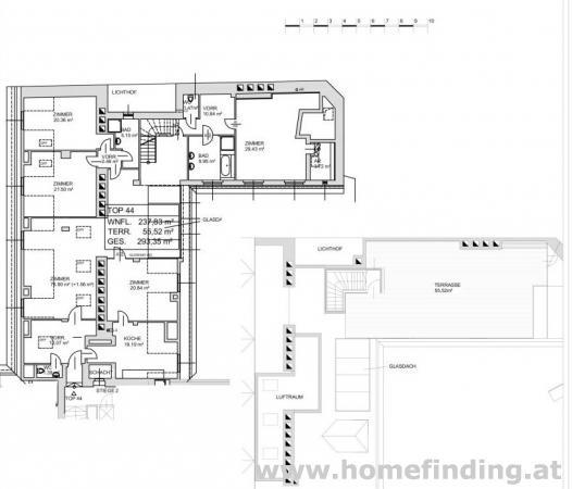 wunderschönes Terrassen-Penthouse