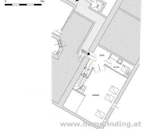 Biberstraße/ Parkring: Terrassenmaisonette - befristet