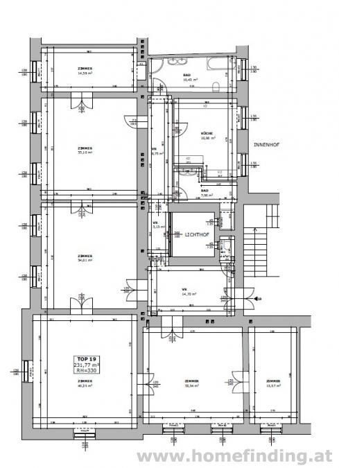 beim Schottenring: tolle 6-Zimmerwohnung - unbefristet