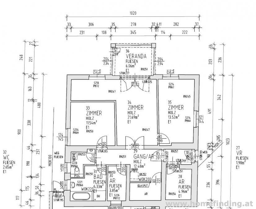 3-Zimmerwohnung mit Wintergarten und herrlichem Blick