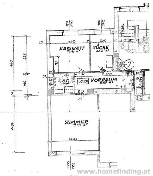 Eigentumswohnung beim Schwedenplatz: schöne 2-Zimmerwohnung