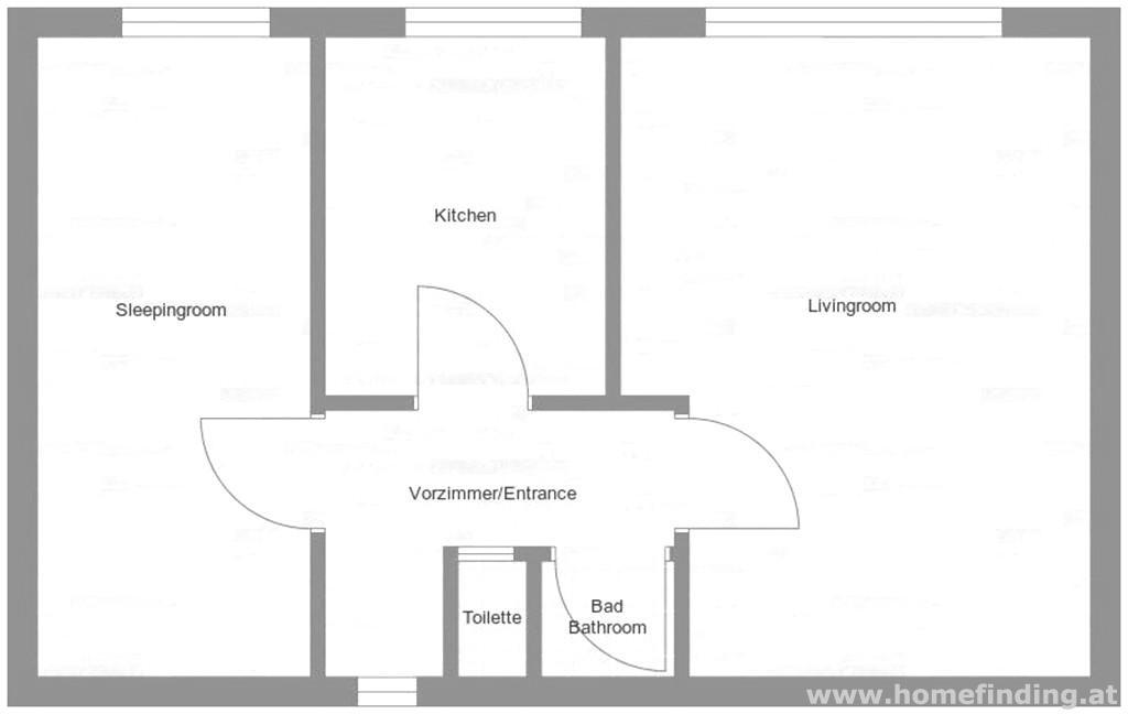 furnished 2 rooms/ möblierte 2-Zimmer nahe Donaukanal