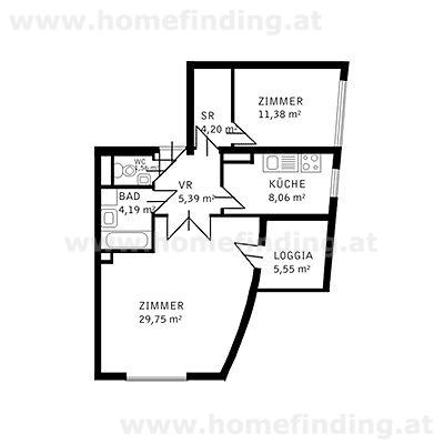gbild -- möblierte 2 Zimmer Wohnung in Althietzing/Fleschgasse /  / 1130Wien / Bild 6