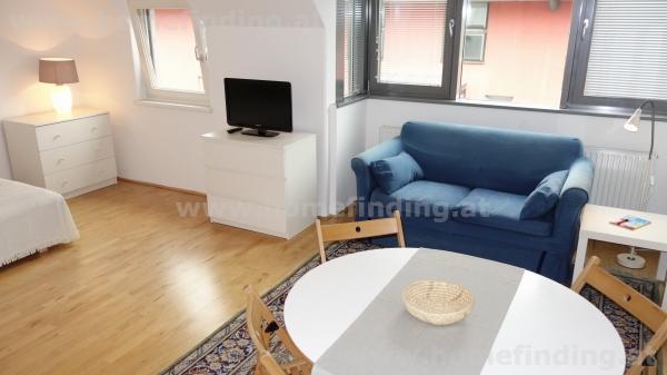 möblierte 1-Zimmer-Neubau-Wohnung
