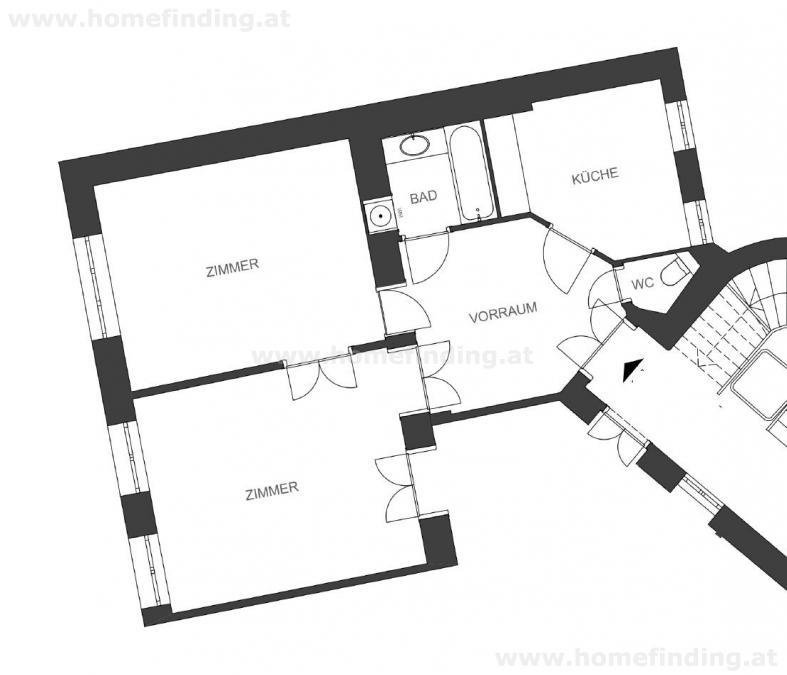 im Servitenviertel: wunderschöne, möblierte Altbauwohnung /  / 1090Wien / Bild 5