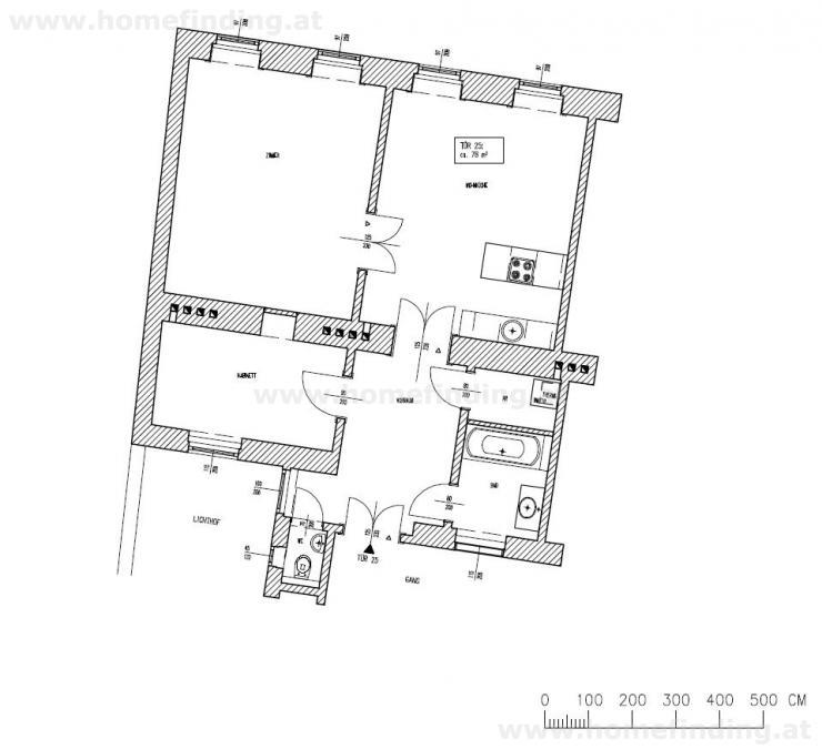 Traumlage beim Alten AKH - Altbauwohnung 2 Schlafzimmer /  / 1090Wien / Bild 2