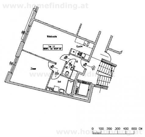 moderne Neubauwohnung - 2 Zimmer