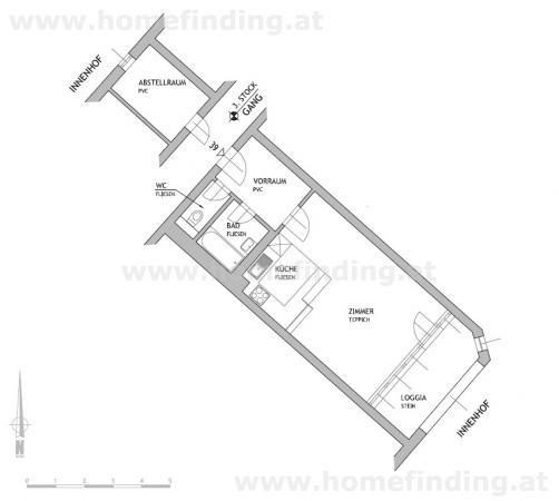 gbild -- Rockhgasse: moderne Mietwohnung nahe dem Schottenring /  / 1010Wien / Bild 5