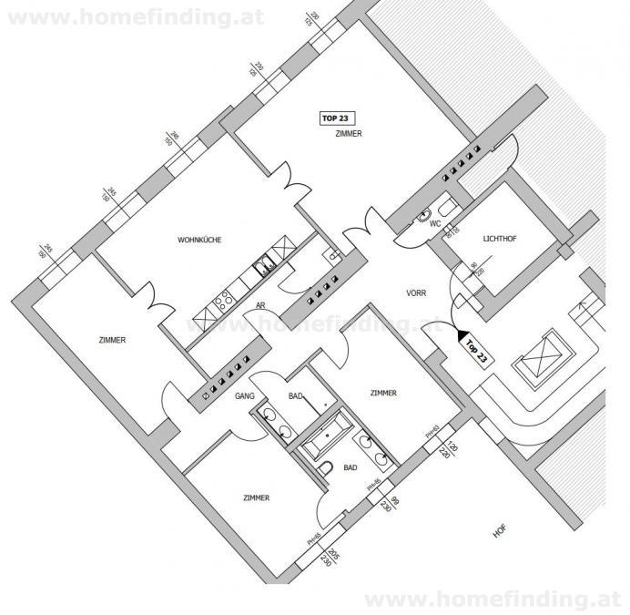 Luxus- Altbauwohnung nahe Museumsquartier /  / 1010Wien / Bild 8