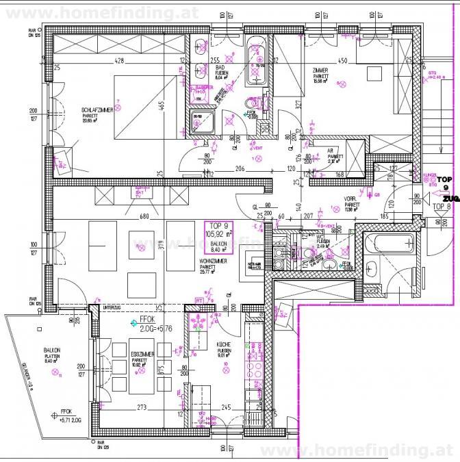 gbild -- Moderne Balkonwohnung in Althietzing /  / 1130Wien / Bild 8
