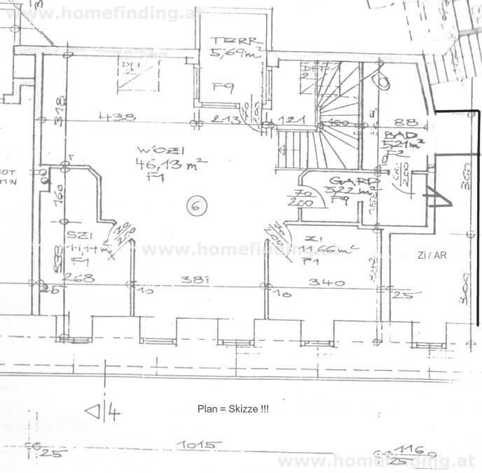 jpgcnt ---- helle Maisonette mit Balkon + Allgemeingarten /  / 1060Wien / Bild 1